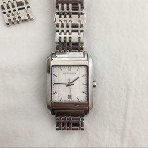 Burberry Silver Swiss Made Watch (BU1572)
